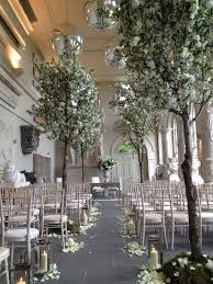 weddings blossom trees ceremony decoration aynho park wedding