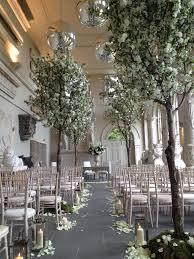 weddings blossom trees ceremony decoration aynho park wedding
