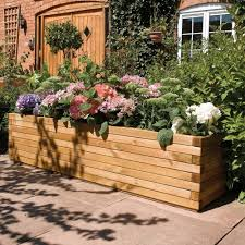 Long Planter Box by Wonderful Patio Planters Inspirations U2014 The Homy Design