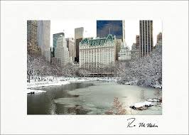 personalized boxed christmas cards winter retreat central park new york city boxed christmas cards