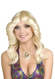 70s disco hairstyles amazon com forum novelties women s 70 s disco doll costume wig