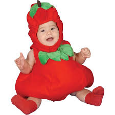 Strawberry Halloween Costume Baby Baby Apple Infant Halloween Costume Apartysource Infant