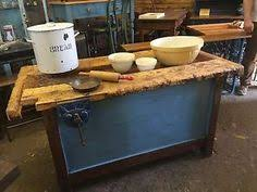kitchen island ebay antique workbench butcher block top kitchen island mmd antiques