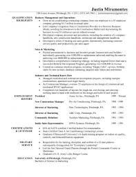 Hvac Resume Template Hvac Service Resume