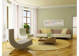 interior foxy living room decoration using modern light green