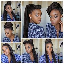 7 box braid styles video box braids styling box braids and box
