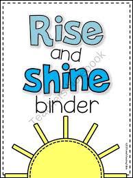 41 best morning binder images on pinterest classroom