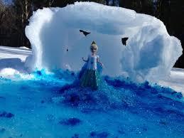 frozen snow tutorial queen elsa movie ice palace