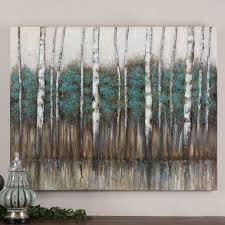 have to have it uttermost edge of the forest canvas art 51w x