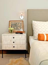 bedroom end tables black brown nightstand round bedside bedroom end tables with drawers