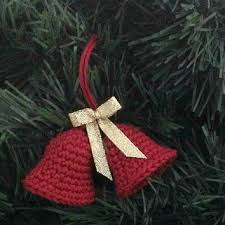 shop crochet christmas ornaments on wanelo