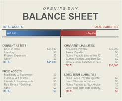 Excel Balance Sheet Template Free Sle Balance Sheet 5 Documents In Pdf Word Excel