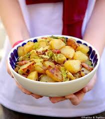 cuisiner pomme de terre poêlée de pommes de terre sautées et chou vert
