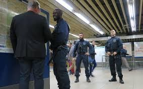 ratp siege avec les équipes de sécurité de la ratp le parisien