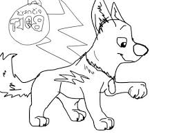 disney create bolt coloring page print color yippers 477572