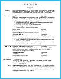 Mechanical Foreman Resume Cover Letter Carpentry Resume Template Apprentice Carpenter Resume