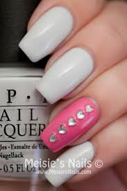 Rhinestone Nail Design Ideas 136 Best Nails Images On Pinterest Make Up Pretty Nails And