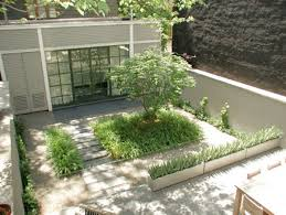Garden Inside House by Modern Grey House Design That Can Be Decor With Indoor Unique