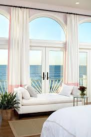 Curtain Trim Ideas Boston Curtain Trim Ideas Bedroom Style With Arch Window