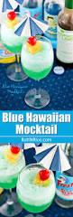 blue hawaiian mocktail roti n rice