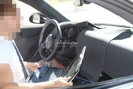 porsche cars interior 2019 porsche 911 992 interior spied shows new steering wheel