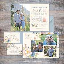 Wedding Invitations Utah Jeneze Designs Custom Wedding Invitations