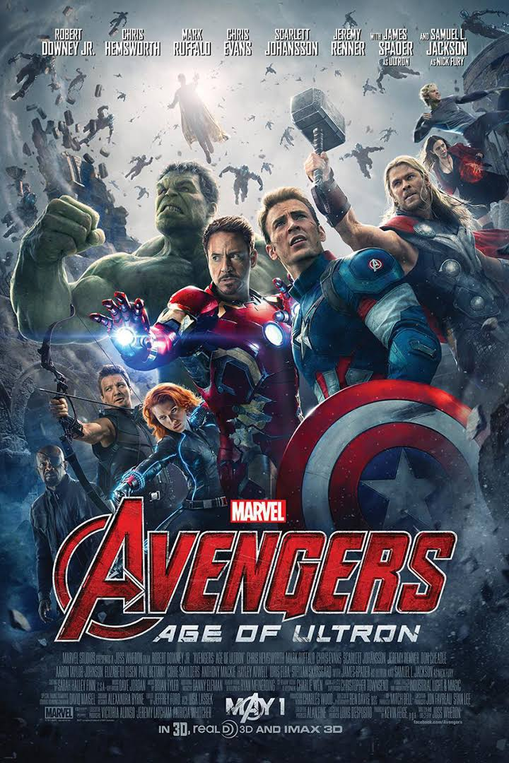 Avengers Age Of Ultron Poster 2015