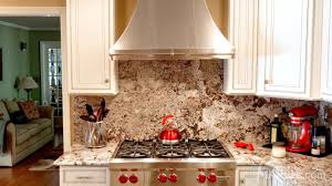 improve your kitchen with a natural stone backsplash