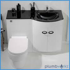 d shape bathroom vanity unit basin sink bathroom wc unit glass
