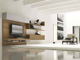 modern white wall combined with grey modern floor and modern