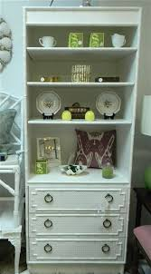 White Shabby Chic Bookcase by Gas Lamp Antiques