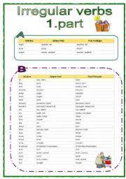 homework help irregular verbs