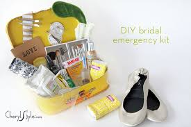 wedding gift kits bridal emergency kit everyday dishes