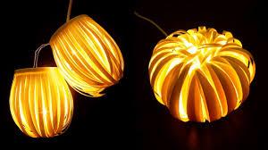 paper cup light decor striped lantern u0026 chrysanthemum ezycraft