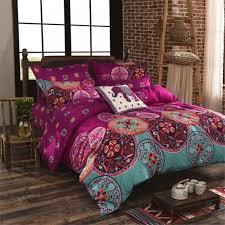 Bohemian Style Comforters Bohemia Style Microfiber Bedding Sets Duvet Cover Set Quilt