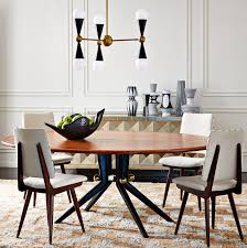 modern rectangle and round dining room tables jonathan adler