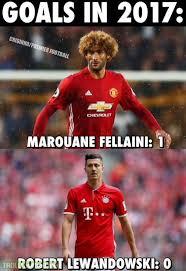 Lewandowski Memes - fellaini lewandowski soccer memes goal91
