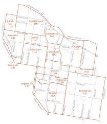 Councils Of Melbourne Map City Maps Glen Eira City Council