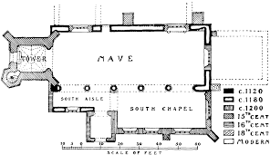 Floor Plan Of A Church by Parishes Carisbrooke British History Online