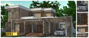 Low Cost House by 2375 Sq Ft Contemporary House Design Ground Floor 1 U2013 Mater Bed