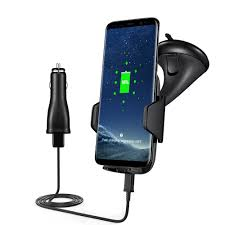 portable qi car fast wireless charger car mount vehicle dock sale
