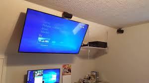 tv on slope ceiling youtube