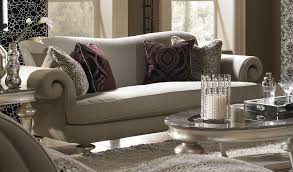 aico hollywood swank vanity aico hollywood swank taupe sofa 03815 taupe 05 usa furniture