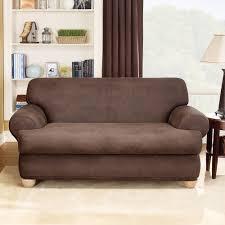 decor sure fit cotton duck sofa slipcover t cushion sofa
