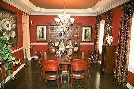 dining room red paint ideas interior design