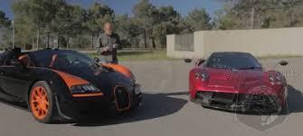 bugatti vs car wars which hypercar is the best bugatti veyron vs pagani