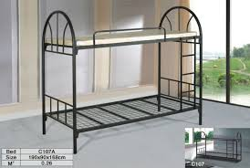 Saudi Arabic Strong Good Quality Bunk BedShiny Painting Bunk Bed - Good quality bunk beds