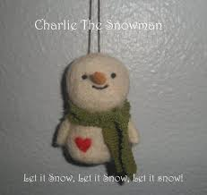 67 best needle felted snowman images on felt snowman