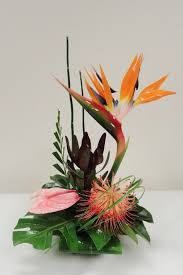 tropical flower arrangements best 25 tropical flower arrangements ideas on