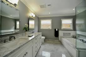 Bathroom Elegant White Bathroom Vanity With Marble Top And Large - Elegant white cabinet bathroom ideas house